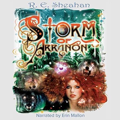 Storm of Arranon audiobook cover art