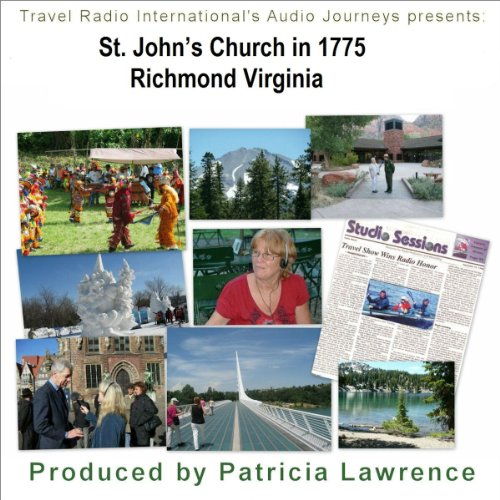Audio Journeys: St. John's Church, Richmond Virginia audiobook cover art