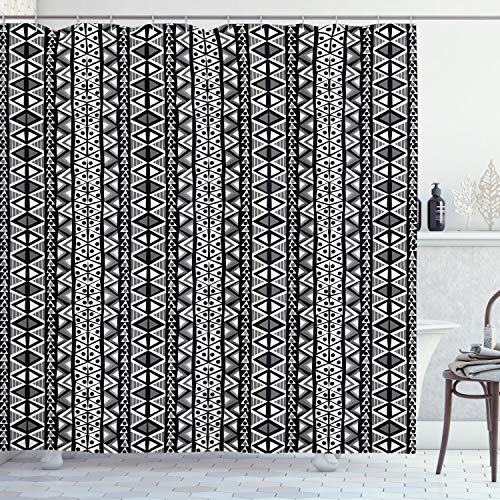 Ambesonne Retro Shower Curtain
