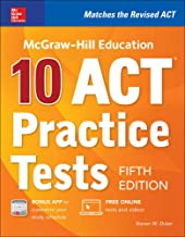 McGraw-Hill Education: 10 ACT Practice Tests, Fifth Edition (Mcgraw-Hill's 10 Act Practice Tests) PDF