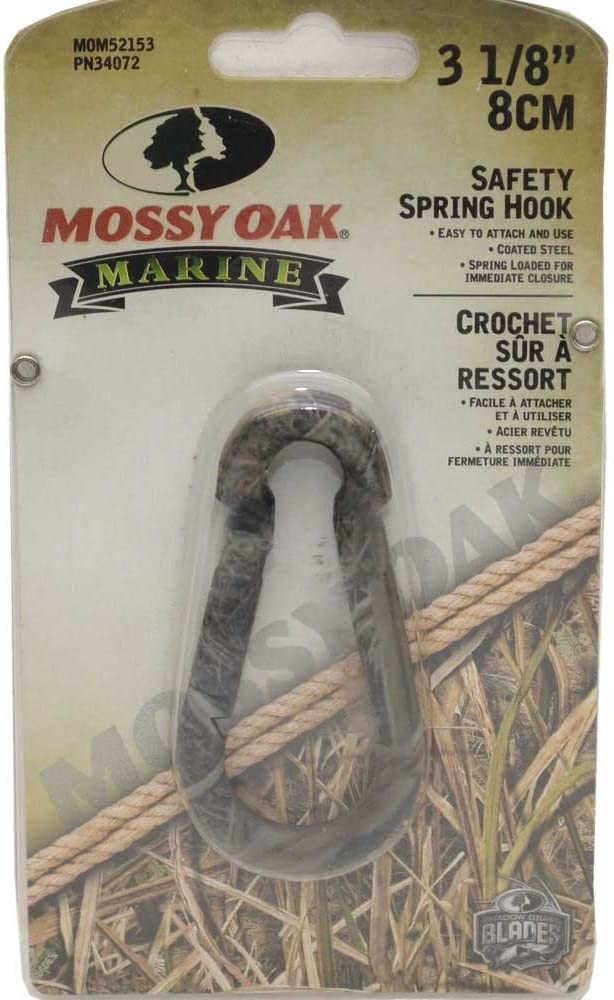 Mossy Oak Boat Safety Snap Hook 8 Camouflage MOM52153 Popular shop is New item the lowest price challenge Inch 3 1