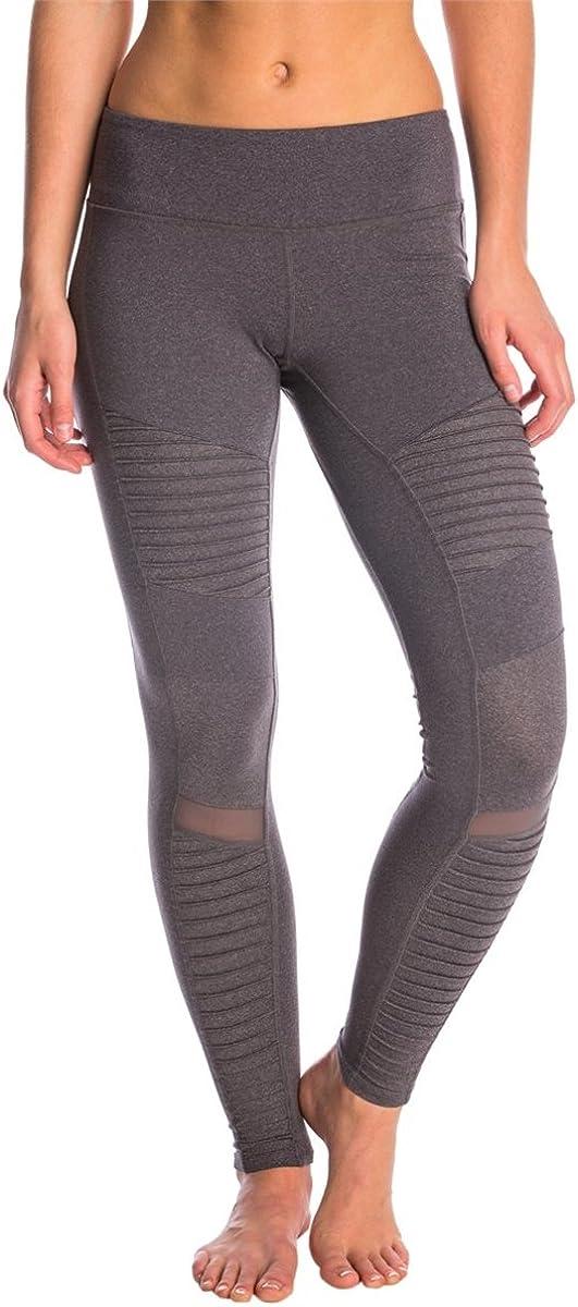 ALO MOTO Pants in Rich Navy Blue Legging Yoga Run Shine XS BLOGGER HOLLYWOOD FAV