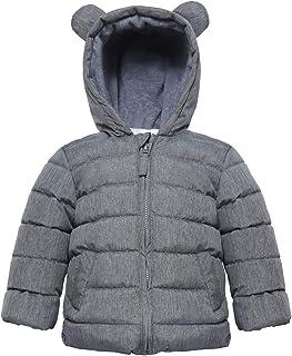 TJTJXRXR Little Baby Boys Winter Puffer Coat Kids Thicken Down Jacket Outwear