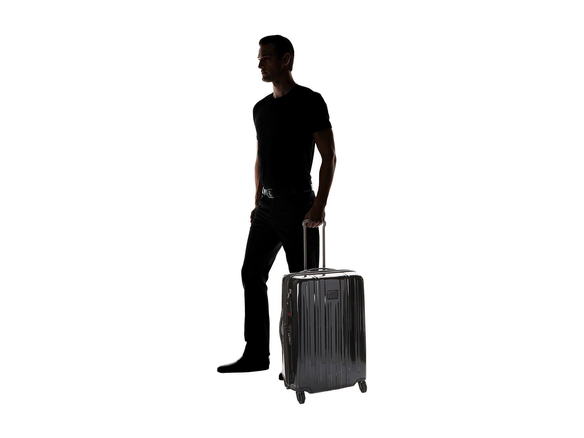 Tumi V3 Expandable Packing Case Black Trip Short r1wdq0fr