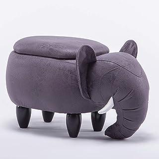 Sofa stool Elephant Change Shoe Bench Creative Sofa Bench Storage Bench Low Bench Receive Cartoon Bench Test Shoe Bench Re...
