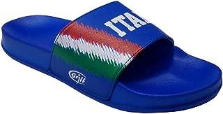 ellemme Ciabatte A Fascia Super-Leggere Italia Calcio Originali flagband Azzurri