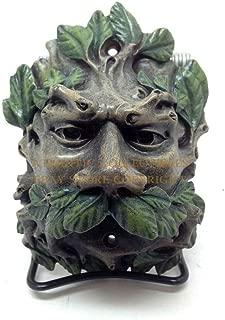 Ky & Co YK Whispering Hollow Forest Leaf Greenman Bottle Opener Figurine Statue Celtic