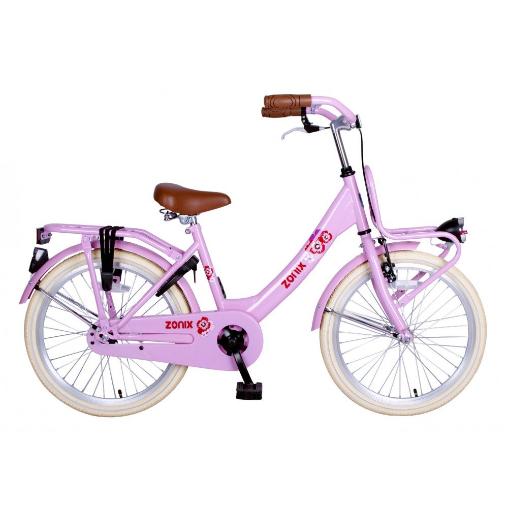 Bicicleta holandesa para niña Zonix 20 pulgadas Rosa: Amazon.es ...