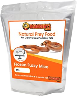 UGRodents 50-Pack Frozen Fuzzy Mice