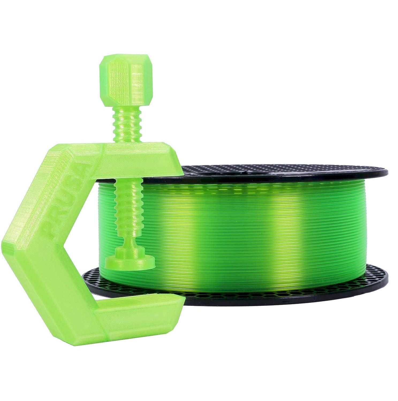 Prusament Neon Green Max 77% OFF PETG store Filament 1kg lbs Spool 1.75mm 2.2