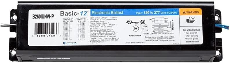 (Case of 18) New Instant Start Universal T12 Ballast | B260IUNVHP-0001