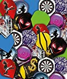 RED DRAGON Bargain Assorted Dart Flights 25 Sets