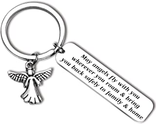 Leaving Gifts Drive Safe Gift May Angels Fly with You Wherever You Roam Bring You Back Safely to Family and Home