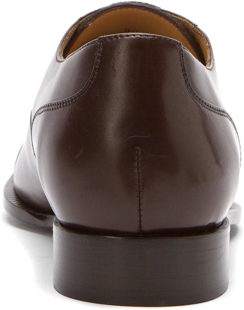 Dino Monti Allen - Men's Classic Oxford Dark Brown - 14 (m)-d