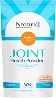 Neoflex Bone & Joint Health Powder Supplement, MSM, Glucosamine, & Chondroitin Triple Strength Formula,30 Packets