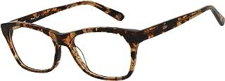 Magic Jing Blue Light Blocking Computer Gaming Glasses Anti Glare UV Protection Rectangle Eyeglasses for Men and Women (Tortoise)