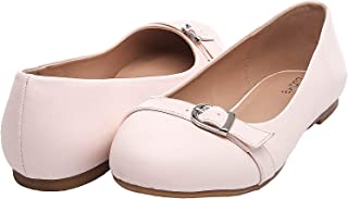 Women's Wide Width Flat Shoes - Comfortable Slip On Round Toe Ballet Flats