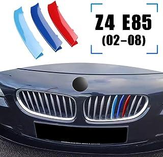 Fangfeen Matte Grille Kidney Avant Noir Voiture de Sport Style Grill Remplacement pour Z4 E85 2003-2008