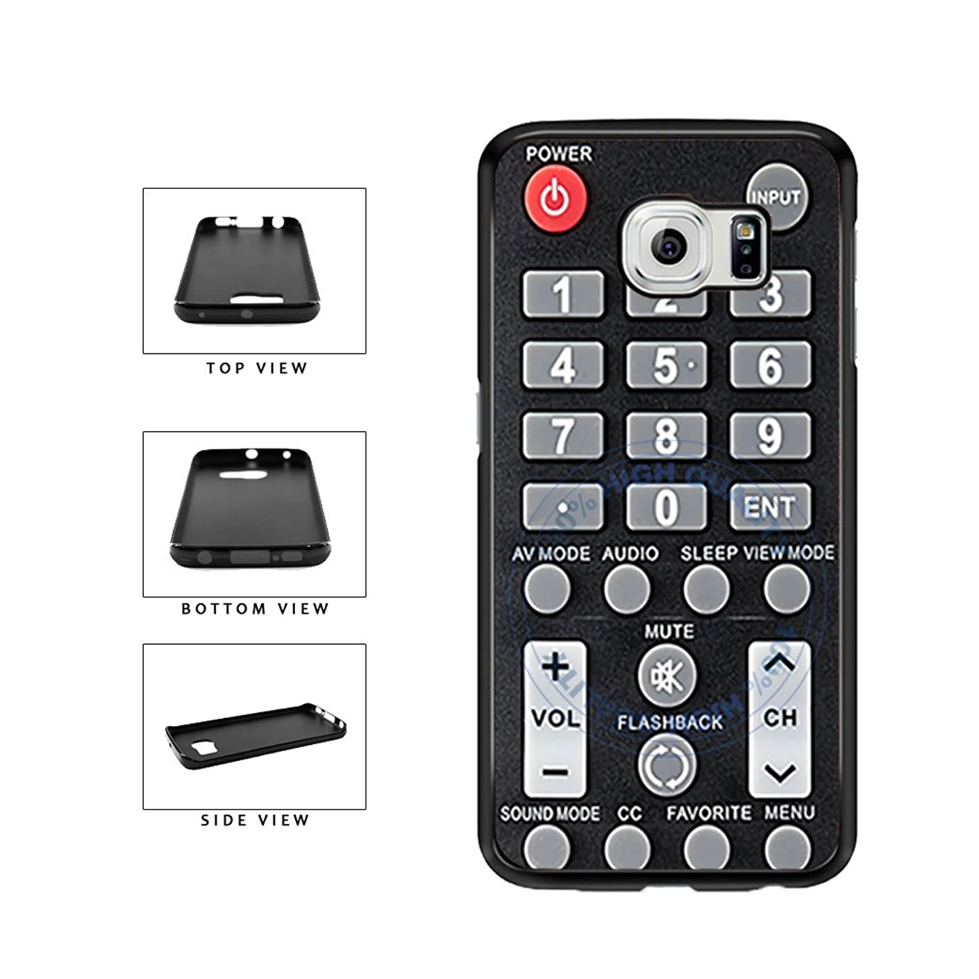 BleuReign(TM) Funny TV Remote Control TPU RUBBER SILICONE Phone Case Back Cover For Samsung Galaxy Note 5 Edge