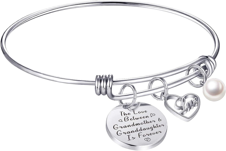LANJU Inspirational Charm Bracelet Adjustable Bangle for Gift Wo High quality new 5% OFF