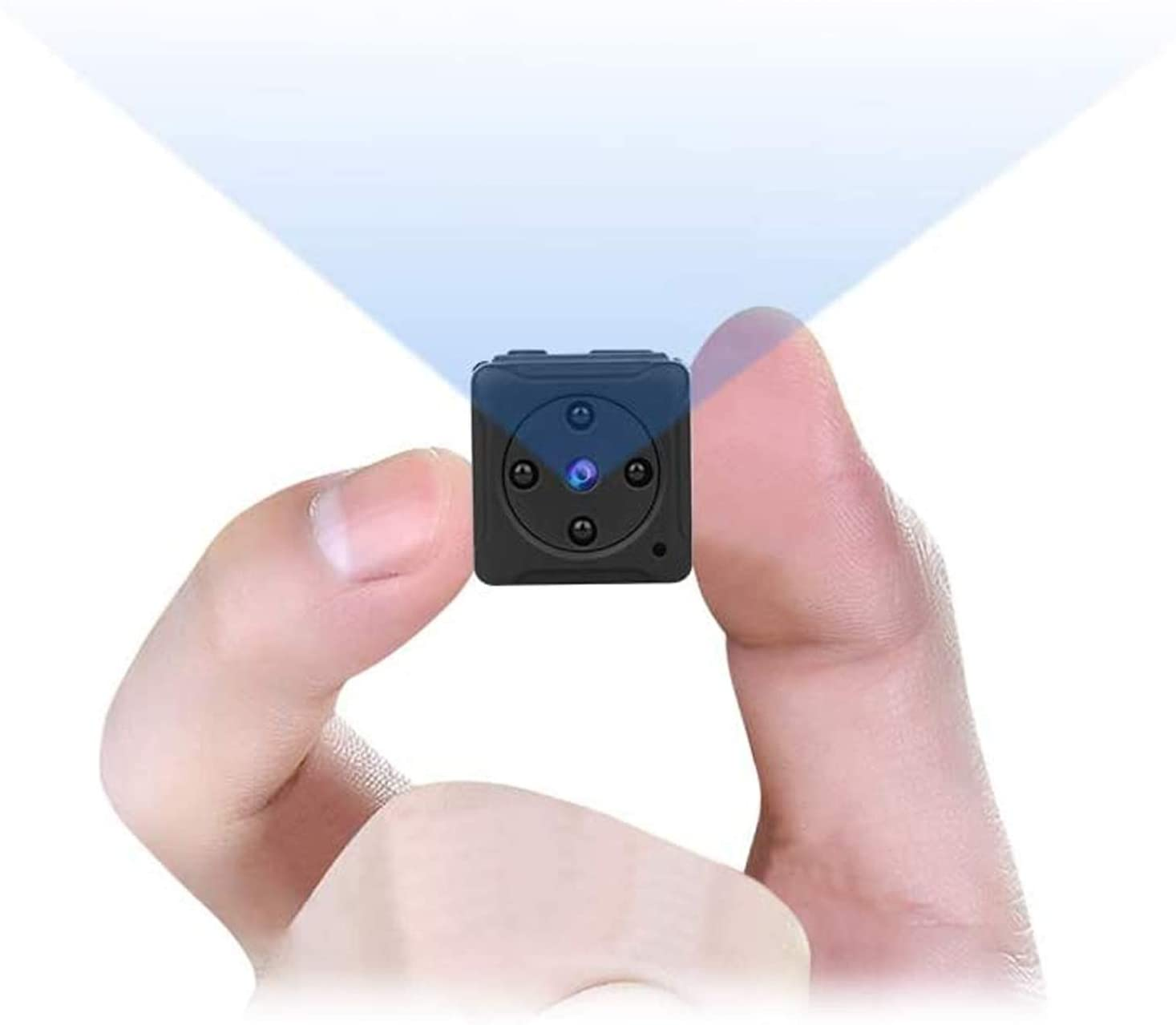 Amazon.com : Mini Spy Camera Wireless Hidden, MHDYT Full HD 1080P Portable  Small Covert Home Nanny Cam with Motion Detection and Night Vision,  Indoor/Outdoor Micro Security Surveillance Hidden Camera : Camera &