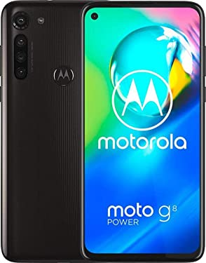 Motorola Moto G8 Power XT2041-1 64GB Hybrid Dual SIM GSM Unlocked Android Smartphone -Smokey Black