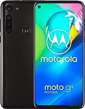 "Moto G8 Power w/ 5000 mAh Battery (64GB, 4GB) 6.4"" Dual SIM GSM Factory Unlocked, Global 4G LTE International Version (at&..."