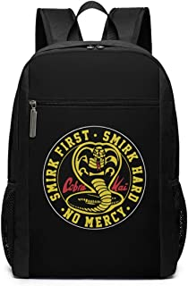 Mochila Mochila de Viaje Cobra Kai Karate Dojo Backpack Laptop Backpack School Bag Travel Backpack 17 Inch