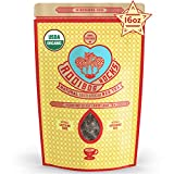 Rooibos Rocks Loose Leaf Rooibos Tea - 16oz USDA Organic Naturally Caffeine-Free South African Original Red Bush Herbal Tea Bulk - Feel the Goodness, Keep Calm and boost your immuni-TEA.