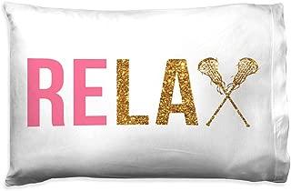 Relax Pillowcase | Girls Lacrosse Pillows by ChalkTalk Sports