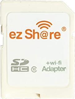 ezshare高速ワイヤレスWIFI無線LAN SDカードアダプター、マイクロez共有SDカードをSD Wifiアダプター 8G 16G 32GB TFカードをサポート