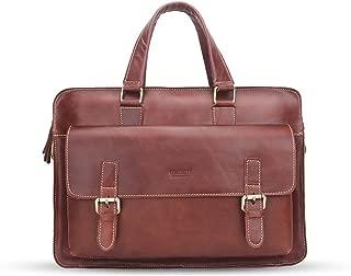 """DNSJB Men Women Business Large Shoulder Satchel Handbag Travel Briefcase Messenger Bag for 16"""" Laptop"""
