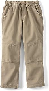 Lands' End School Uniform Boys Iron Knee Pull On Climber Pants