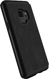 SPECK Presidio Folio Leather Cover f. Samsung Galaxy S9, Black