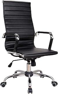 Las sillas de Escritorio, Silla de Escritorio de Oficina Silla Ejecutivo Silla giratoria ergonómica del Ordenador Moderna de la butaca del balanceo Silla de Rodillas