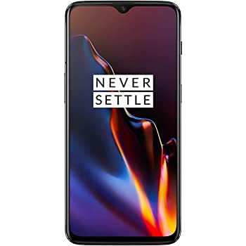 OnePlus 6T A6013 128GB Mirror Black - US Version T-Mobile GSM Unlocked Phone (Renewed)