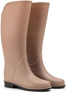 LINGZE Les Bottes de Pluie Pliables Couvrent Les Chaussures imperméables, Les Bottes de Pluie de Grange de Travail en Plei...