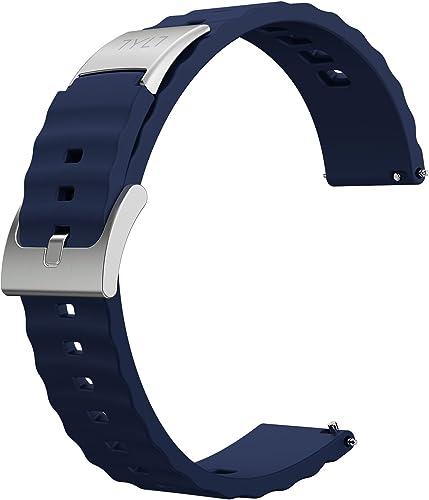 Tylt Moto 360 (2nd Gen) Silicone Watch Band Men's 42mm - Blue
