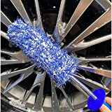 IPELY Wheel Brush, Metal Free Microfiber Wheel Cleaner Brush for Wheel and Rim Detailing, No Scratching