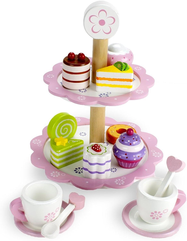 al precio mas bajo Wood Wood Wood Eats  Tea Time Pastry Tower by Imagination Generation by Imagination Generation  lo último