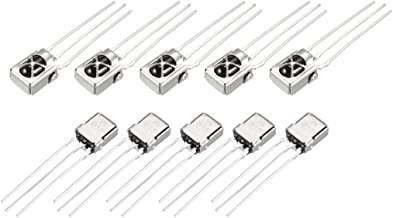 uxcell VS1838 IR Receiver 10M-15M 38KHZ Infrared Diode for Arduino 10pcs