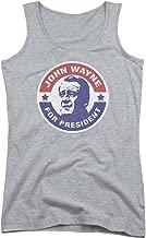 John Wayne for President Women's Sheer Fitted Tank Top