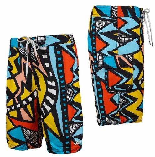Nike, Gradient, Beach Shorts, Mehrfarbig 32/30