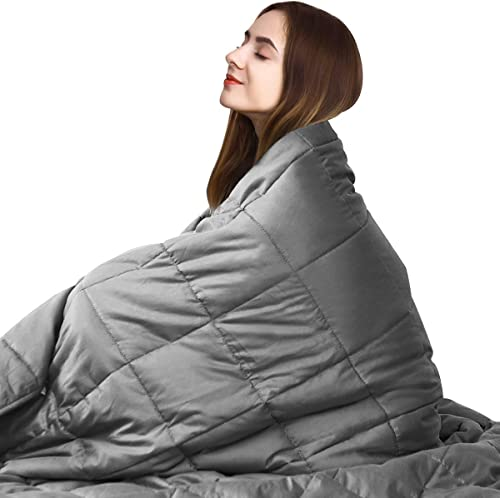 """high quality Giantex outlet online sale Premium Weighted Blanket Smaller Pockets 22lbs 