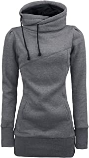 Women Sweater,Neartime Loose Pullover Long Sleeve Outfit Warm Sweatshirt (L, Gray)