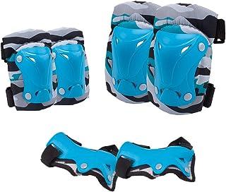 comprar comparacion Senston Rodilleras Niño para 3-12 años, 6 en 1 Coderas para Patinaje Equipos de Proteccion Patines