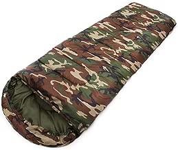 Best-selling Army Green Camo Ultralight Adult Sleeping Bag 3 Season Camping Hiking Travel Sleeping Bag Quilt Waterproof