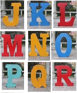 GRANE Wooden Alphabet Craft Letter Plaque Wall Hanging Wedding Decoration V