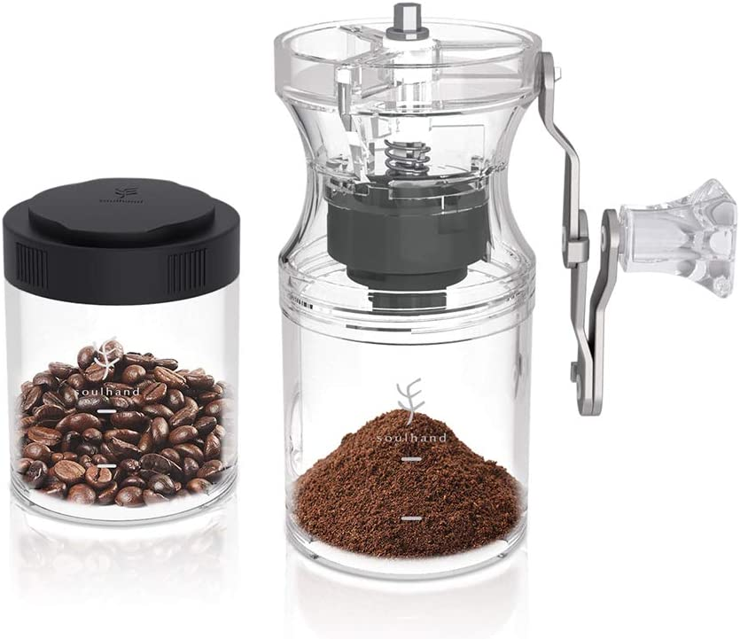 Soulhand Manual Max 68% OFF Coffee Max 45% OFF Portable Grinder Hand