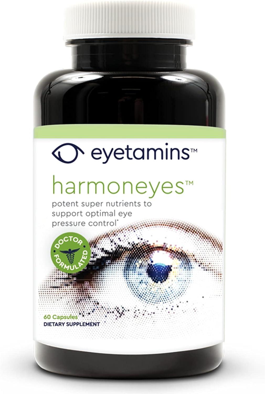 Eyetamins Harmoneyes Eye Free Manufacturer regenerated product shipping Health Supplement - Promo 60 Capsules